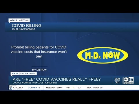 Are 'free' COVID-19 vaccines really free?
