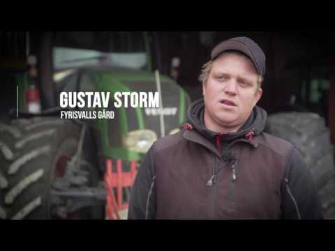 Lantmännens hållbar odling med bonden Gustav Storm