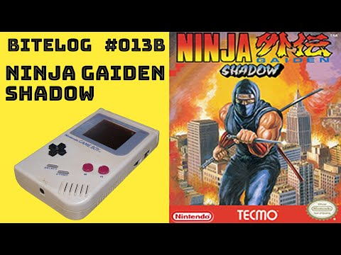 BITeLog 013B.1: Ninja Gaiden Shadow (GAMEBOY) LONGPLAY