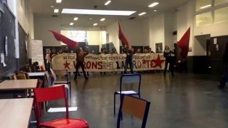 [FORCE] Les filles en manifestation contre LA LOI TRAVAIL, Université Paris 8