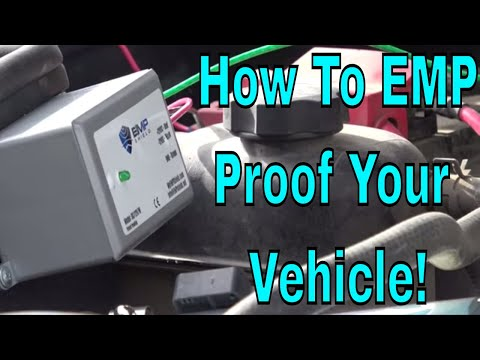 How To EMP Proof A Vehicle  - EMP Shield