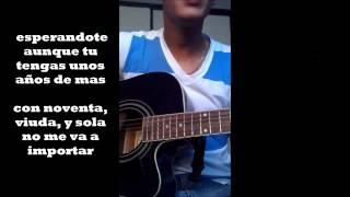 Luan Santana te esperando cover by Janael Gil en español