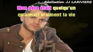 KEEN'V   MON PERE I G JJ Karaoké - Paroles