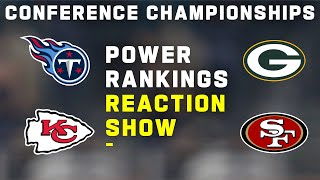 Power Rankings Reaction Show: Conference Championships