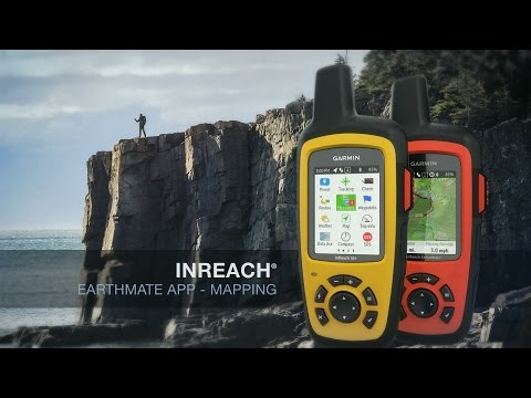 Garmin inReach: Earthmate App – Mapping