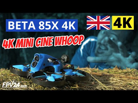 BETA 85X 4K Cine Whoop from BETAFPV – TEST and First Look (English Version)