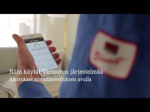 Näin käytät Verisuren järjestelmää: Ajastukset mobiilisovelluksella