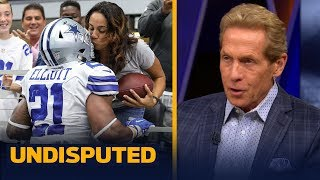 Skip Bayless doubles down after Ezekiel Elliott's mom responds to his criticism   NFL   UNDISPUTED