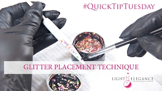How to Place Chunky Glitters – #QuickTipTuesday