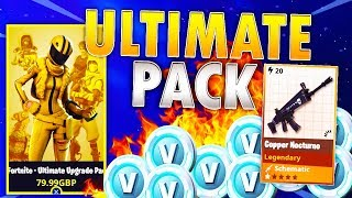 Buying ULTIMATE UPGRADE PACK Before Its GONE! | Fortnite Save The World