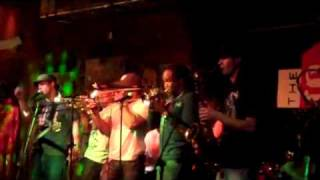 Brass-a-holics featuring Shamarr Allen at The Stage