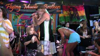 Train's Hey Soul Sister performed by The Flying Mueller Brothers @Jenks 9/4/11