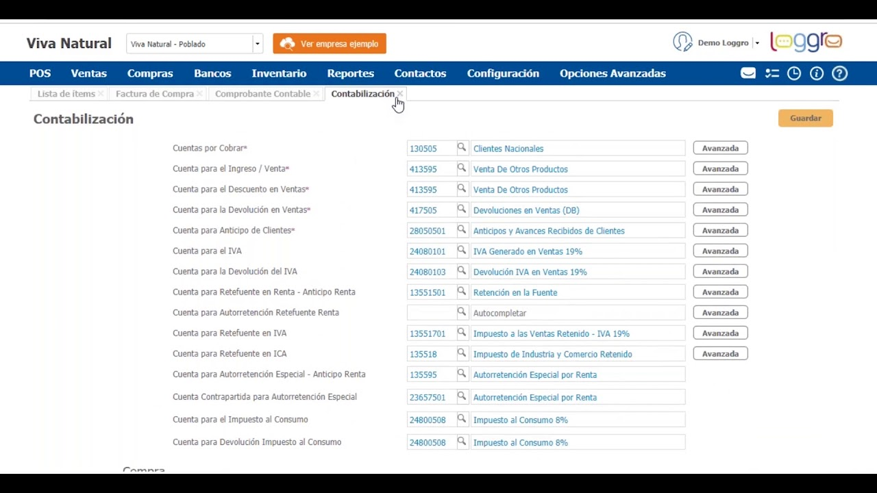 Demostración Software Contable y de Facturación Electrónica | Loggro