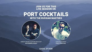 School of Port's live session on 'Port cocktails' with Gustavo Devesas & NKIS bar staff