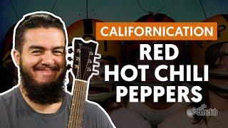 videoclase Californication (aula de violão completa)