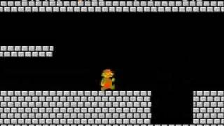 How To Beat World 7-4 On Super Mario Bros.