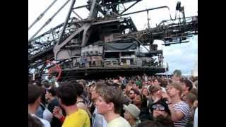 "Laurent Garnier presents LBS ""The Man With The Red Face"" Live@Melt Festival 14.07.12"
