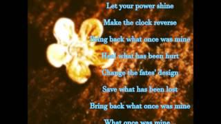 "Healing Incantation by Mandy Moore (w/ lyrics) From Disney's ""Tangled"""