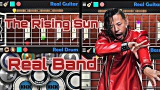 The Rising Sun ( WWE Shinsuke Nakamura Theme Song ) - Real Band Cover