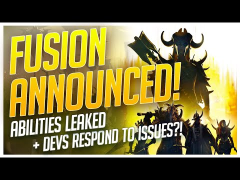 RAID | FUSION ANNOUNCED! | ABILITIES LEAKED! | DEVS RESPOND!
