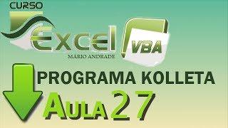 Curso Excel - Programa Kolleta Aula 27