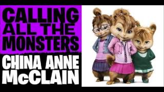 Calling All The Monsters - China Anne Mcclain (Chipmunk Version)