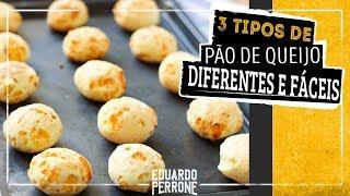 3 Tipos De Pão de Queijo: de frigideira, de liquidificador e o tradicional