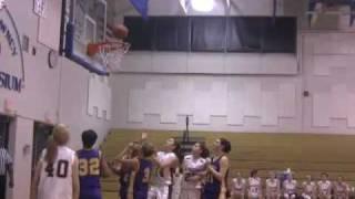 Wellsville NY basketball vs Sodus girls sectionals