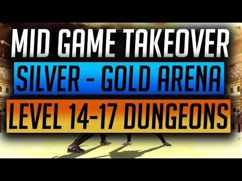 RAID: Shadow Legends | Mid Game Account Takeover | Level 14 Dungeons & Silver to Gold Arena showcase