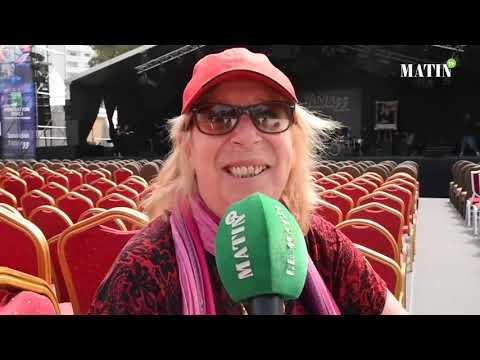 Video : Tanjazz 2019: Déclaration de la chanteuse Nina Van Horn
