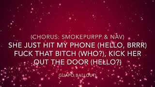 "Smokepurpp feat. Nav - ""Phone"" Lyrics"