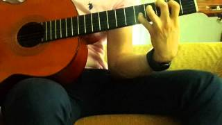 Metallica - The Unforgiven James Acoustic Part
