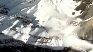 GoPro Avalanche Cliff Jump, Zack Hemsey- Mind Heist