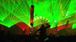 Qlimax 2011- The Prophet & Zany ft DV8- Nothing else matters ( LIVE)