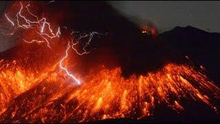 RAW: Sakurajima volcano erupts 50km from nuclear plant in Japan