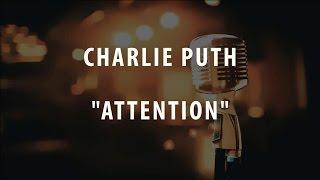 CHARLIE PUTH - ATTENTION (INSTRUMENTAL / KARAOKE)
