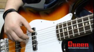 Bajo Fender Squier Jazz Bass Affinity Sunburst | QUEEN INSTRUMENTOS MUSICALES