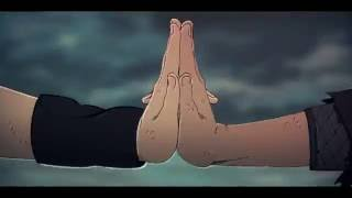 Naruto vs Sasuke Final Fight // SILENT RAIN - GARDEN