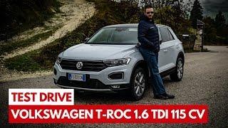 Volkswagen T-Roc | Test Drive del TDI 1600 turbo diesel da 115 Cv