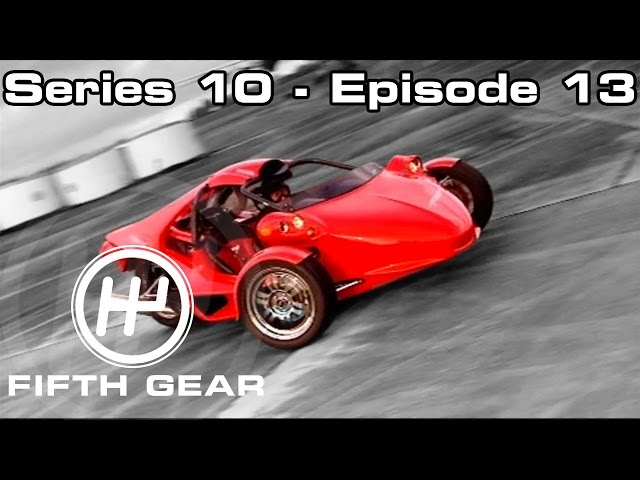 Vicki and Tim host the Fifth Gear award