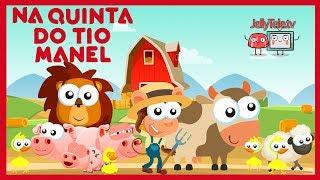 Na quinta do Tio Manel - Rima de berçário | JellyTeleTV - Português