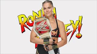 WWE Ronda Rousey Theme - Bad Reputation + Arena & Crowd Effect! w/DL Links!