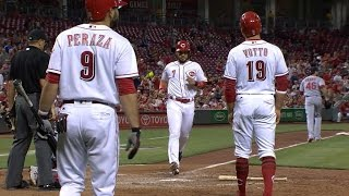 6/5/17: Four-run 7th inning powers Reds to a 4-2 win