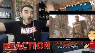 SPIDER-MAN : REACTION à l'ENORME TRAILER de FAR FROM HOME !