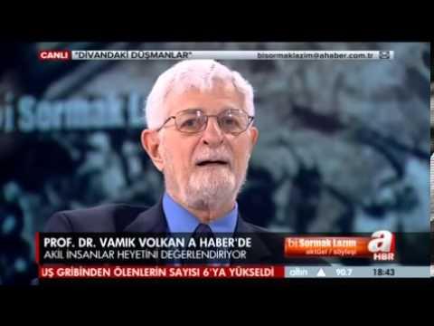 """A HABER / PROF. VAMIK VOLKAN:""""ÖCALAN'IN İMRALI'DAN ÇIKMASINI KONUŞMAK İÇİN ERKEN, BELKİ SENEYE"""""""