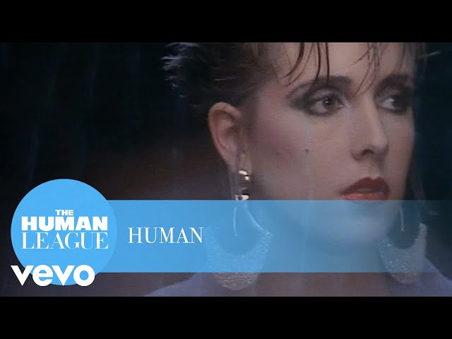 Vídeo oficial de Human de The Human League