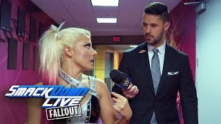 Why is Alexa Bliss calling Becky Lynch a loser?: SmackDown LIVE Fallout, Sept. 27, 2016