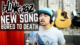 Blink-182 - Bored To Death (Acoustic Cover by Tiago Contieri)