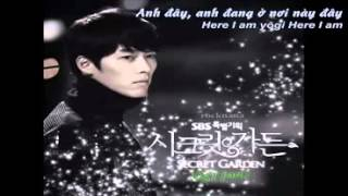 Vietsub Here I am   4men ft  Mi Secret Garden OST
