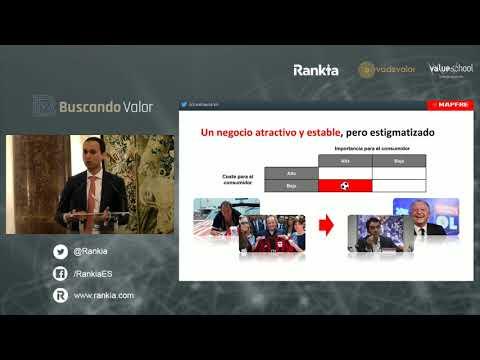 Conferencia de Luis García, Mapfre AM, en el evento Buscando Valor 2019 en Madrid.